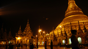 Shwedagon Pagoda views
