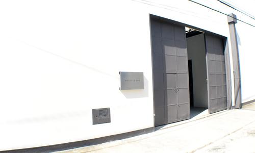 A fachada da White Cube