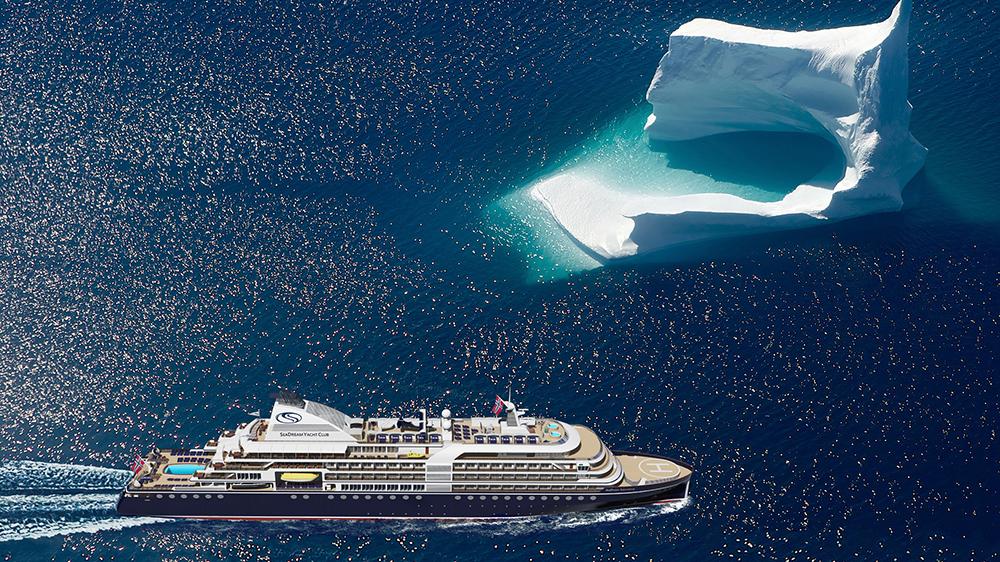 Cruzeiro de expedição Antártica